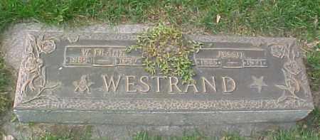 WESTRAND, WILBERT FRANK - Dixon County, Nebraska | WILBERT FRANK WESTRAND - Nebraska Gravestone Photos
