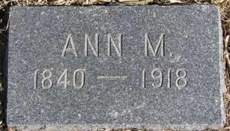 WHEELER, ANN MARIE - Dixon County, Nebraska | ANN MARIE WHEELER - Nebraska Gravestone Photos