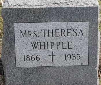 WHIPPLE, THERESA - Dixon County, Nebraska | THERESA WHIPPLE - Nebraska Gravestone Photos