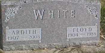 WHITE, FLOYD - Dixon County, Nebraska | FLOYD WHITE - Nebraska Gravestone Photos