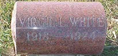 WHITE, VIRGIL L. - Dixon County, Nebraska | VIRGIL L. WHITE - Nebraska Gravestone Photos
