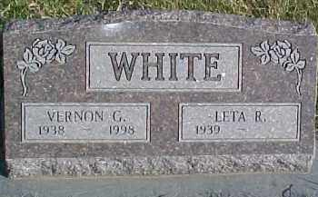 WHITE, LETA R. - Dixon County, Nebraska   LETA R. WHITE - Nebraska Gravestone Photos