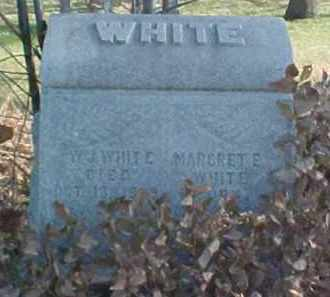 WHITE, MARGARET E. - Dixon County, Nebraska | MARGARET E. WHITE - Nebraska Gravestone Photos
