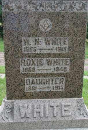 WHITE, W.N. - Dixon County, Nebraska   W.N. WHITE - Nebraska Gravestone Photos