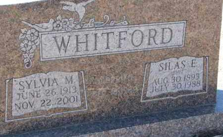 WHITFORD, SYLVIA M. - Dixon County, Nebraska | SYLVIA M. WHITFORD - Nebraska Gravestone Photos