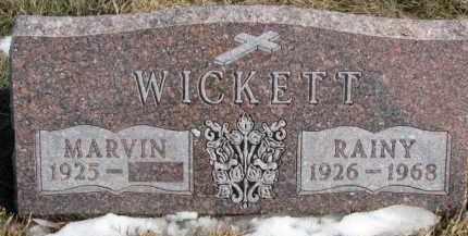 WICKETT, RAINY - Dixon County, Nebraska | RAINY WICKETT - Nebraska Gravestone Photos