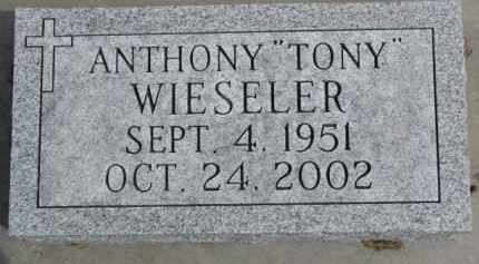 "WIESELER, ANTHONY ""TONY"" - Dixon County, Nebraska   ANTHONY ""TONY"" WIESELER - Nebraska Gravestone Photos"