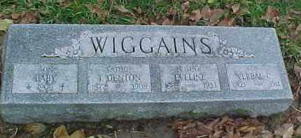 WIGGAINS, VERBAL C. - Dixon County, Nebraska | VERBAL C. WIGGAINS - Nebraska Gravestone Photos