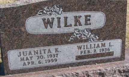WILKE, WILLIAM L. - Dixon County, Nebraska | WILLIAM L. WILKE - Nebraska Gravestone Photos