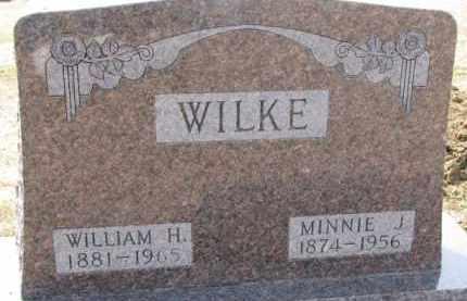 WILKE, MINNIE J. - Dixon County, Nebraska | MINNIE J. WILKE - Nebraska Gravestone Photos