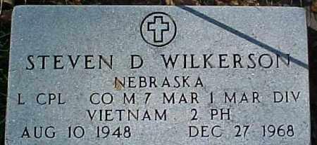 WILKERSON, STEVEN D.  (VIETNAM MARKER) - Dixon County, Nebraska | STEVEN D.  (VIETNAM MARKER) WILKERSON - Nebraska Gravestone Photos