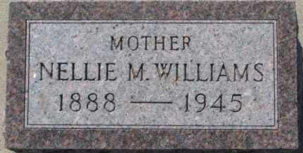 WILLIAMS, NELLIE M. - Dixon County, Nebraska   NELLIE M. WILLIAMS - Nebraska Gravestone Photos