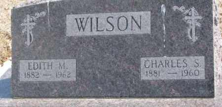 WILSON, CHARLES S. - Dixon County, Nebraska | CHARLES S. WILSON - Nebraska Gravestone Photos