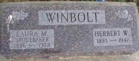 WINBOLT, HERBERT W. - Dixon County, Nebraska | HERBERT W. WINBOLT - Nebraska Gravestone Photos