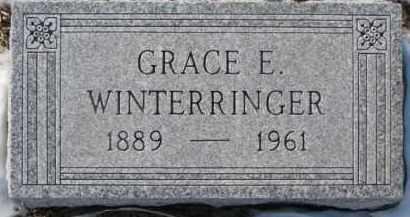 ROGERS WINTERRINGER, GRACE E. - Dixon County, Nebraska | GRACE E. ROGERS WINTERRINGER - Nebraska Gravestone Photos