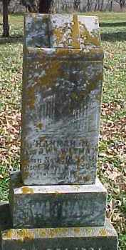 WITHAM, HANNAH M. - Dixon County, Nebraska | HANNAH M. WITHAM - Nebraska Gravestone Photos