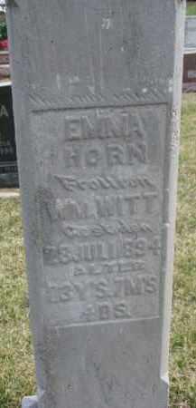 WITT, EMMA - Dixon County, Nebraska | EMMA WITT - Nebraska Gravestone Photos