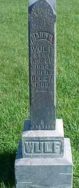 WULF, HANS - Dixon County, Nebraska | HANS WULF - Nebraska Gravestone Photos