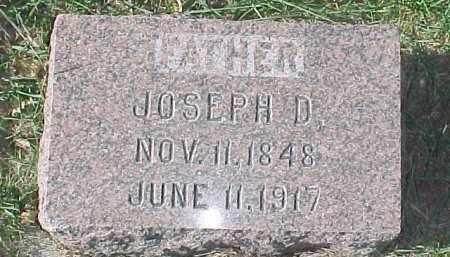 WOODWARD, JOSEPH D. - Dixon County, Nebraska | JOSEPH D. WOODWARD - Nebraska Gravestone Photos