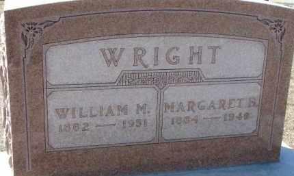 WRIGHT, WILLIAM M. - Dixon County, Nebraska | WILLIAM M. WRIGHT - Nebraska Gravestone Photos