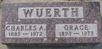 WUERTH, GRACE - Dixon County, Nebraska | GRACE WUERTH - Nebraska Gravestone Photos