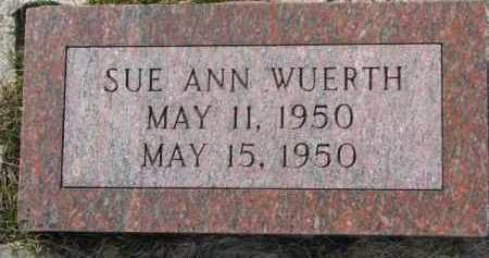 WUERTH, SUE ANN - Dixon County, Nebraska | SUE ANN WUERTH - Nebraska Gravestone Photos