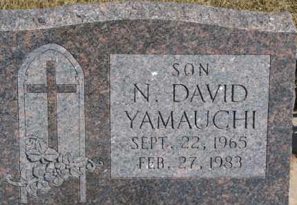 YAMAUCHI, N. DAVID - Dixon County, Nebraska   N. DAVID YAMAUCHI - Nebraska Gravestone Photos
