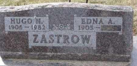 ZASTROW, HUGO N. - Dixon County, Nebraska   HUGO N. ZASTROW - Nebraska Gravestone Photos