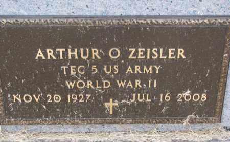 ZEISLER, ARTHUR O. (WW II) - Dixon County, Nebraska   ARTHUR O. (WW II) ZEISLER - Nebraska Gravestone Photos