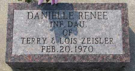 ZEISLER, DANIELLE RENEE - Dixon County, Nebraska | DANIELLE RENEE ZEISLER - Nebraska Gravestone Photos
