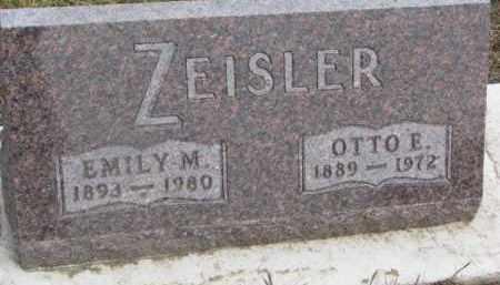 ZEISLER, OTTO E. - Dixon County, Nebraska | OTTO E. ZEISLER - Nebraska Gravestone Photos
