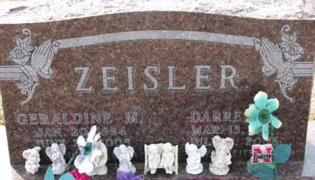 ZEISLER, DARRELL R. - Dixon County, Nebraska | DARRELL R. ZEISLER - Nebraska Gravestone Photos