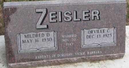 ZEISLER, ORVILLE C. - Dixon County, Nebraska | ORVILLE C. ZEISLER - Nebraska Gravestone Photos