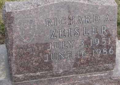 ZEISLER, RICHARD A. - Dixon County, Nebraska   RICHARD A. ZEISLER - Nebraska Gravestone Photos