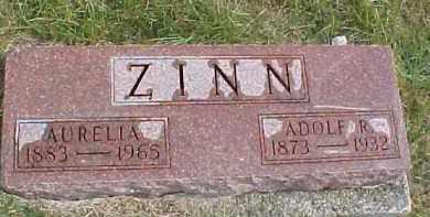 ZINN, AURELIA - Dixon County, Nebraska | AURELIA ZINN - Nebraska Gravestone Photos