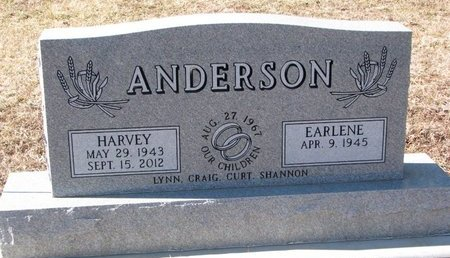 ANDERSON, EARLENE - Dixon County, Nebraska | EARLENE ANDERSON - Nebraska Gravestone Photos