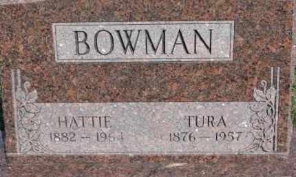 BOWMAN, HATTIE - Dodge County, Nebraska   HATTIE BOWMAN - Nebraska Gravestone Photos