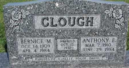 CLOUGH, BERNICE M. - Dodge County, Nebraska | BERNICE M. CLOUGH - Nebraska Gravestone Photos