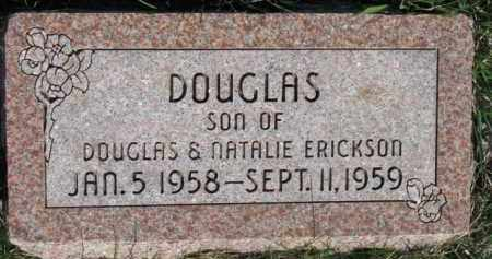 ERICKSON, DOUGLAS - Dodge County, Nebraska | DOUGLAS ERICKSON - Nebraska Gravestone Photos