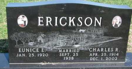 ERICKSON, EUNICE E. - Dodge County, Nebraska | EUNICE E. ERICKSON - Nebraska Gravestone Photos
