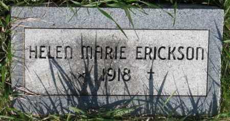 ERICKSON, HELEN MARIE - Dodge County, Nebraska | HELEN MARIE ERICKSON - Nebraska Gravestone Photos