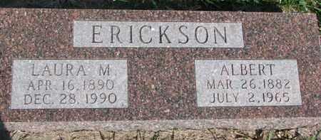 ERICKSON, ALBERT - Dodge County, Nebraska | ALBERT ERICKSON - Nebraska Gravestone Photos