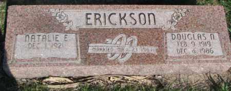 ERICKSON, DOUGLAS N. - Dodge County, Nebraska | DOUGLAS N. ERICKSON - Nebraska Gravestone Photos