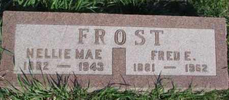 FROST, FRED E. - Dodge County, Nebraska   FRED E. FROST - Nebraska Gravestone Photos