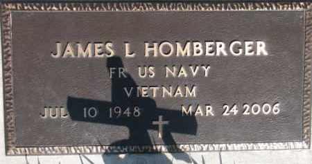 HOMBERGER, JAMES L. (MILITARY MARKER) - Dodge County, Nebraska | JAMES L. (MILITARY MARKER) HOMBERGER - Nebraska Gravestone Photos