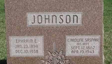 SASPAIR JOHNSON, CAROLINE - Dodge County, Nebraska | CAROLINE SASPAIR JOHNSON - Nebraska Gravestone Photos