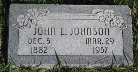 JOHNSON, JOHN E. - Dodge County, Nebraska | JOHN E. JOHNSON - Nebraska Gravestone Photos