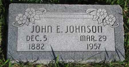 JOHNSON, JOHN E. - Dodge County, Nebraska | JOHN E. JOHNSON - Nebraska Gravestone Photos