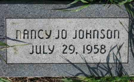 JOHNSON, NANCY JO - Dodge County, Nebraska | NANCY JO JOHNSON - Nebraska Gravestone Photos