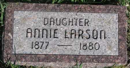 LARSON, ANNIE - Dodge County, Nebraska   ANNIE LARSON - Nebraska Gravestone Photos